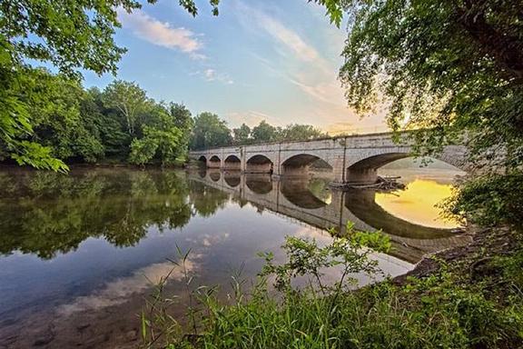 Monocacy Aqueduct by Steve Dean